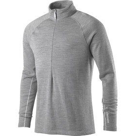 Houdini Wooler Half Zip Sweater Herr college grey/haze